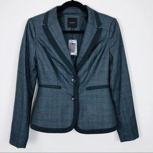 The Limted Grey &Black Blazer Size XS NWT